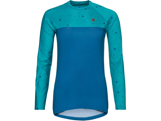 Triple2 Swet Recycled Poly LS Jersey Women lapis